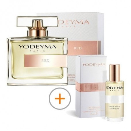 PACK 2 FRASCOS Red Yodeyma 100ml + 15ml