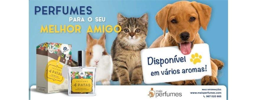 Perfume para cães e gatos