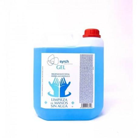 Solução Hidrogel Alcoólico 70% higienizante 5 litros