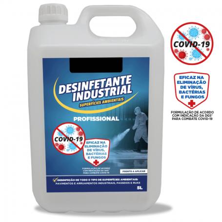 Desinfetante Superfícies Exterior – 7% Cloro Ativo  5LT – PROPREMIUM