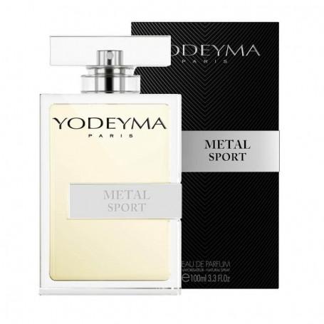 Perfume Masculino Metal Sport Yodeyma 100ml