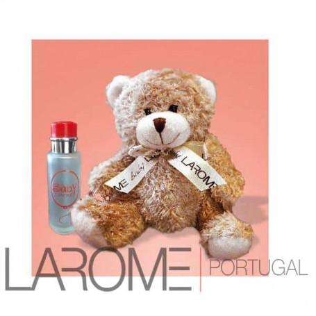 Perfume Infantil Baby Larome com oferta urso