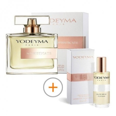 Pack 100ml + 15ml Sophisticate Yodeyma