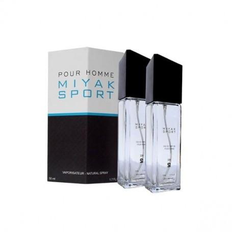 Perfume SerOne Miyak Sport masculino, frasco de 100ml.