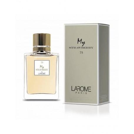 Perfume Feminino MY STRAWBERRY Larome 75F 100ML
