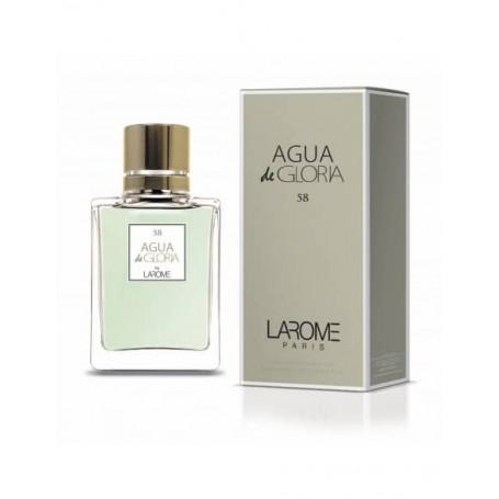 Perfume Feminino AGUA DE GLORIA Larome 58F 100ml