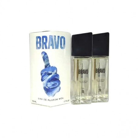 Perfume SerOne Bravo Masculino, frasco de 100ml.