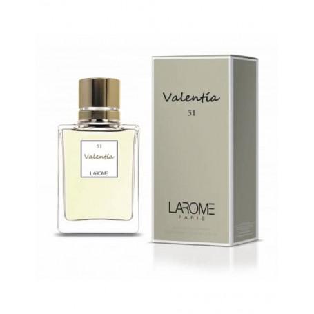 Perfume Feminino VALENTIA Larome 51F 100ml