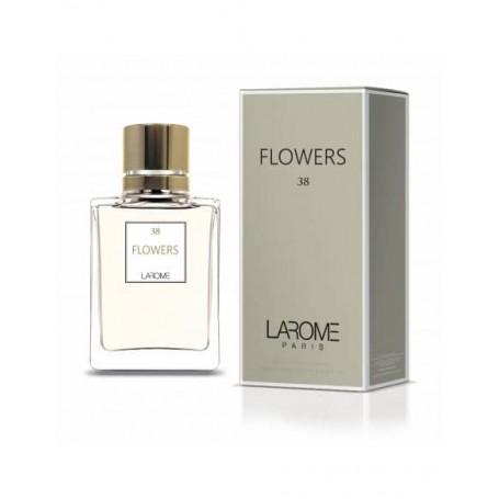 Perfume Feminino FLOWERS Larome 38F 100ml