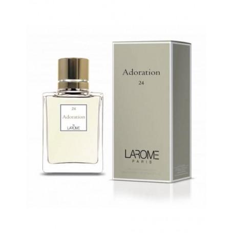 Perfume Feminino ADORATION Larome 24F 100ml