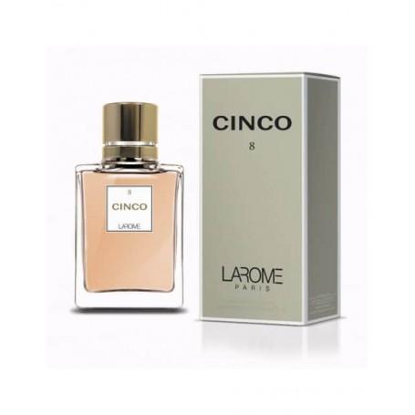 Perfume Feminino CINCO Larome 8F 100ml