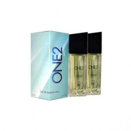 Perfume SerOne One2in Masculino, frasco de 100ml.