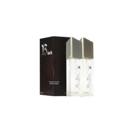 Perfume SerOne Black Atom Masculino, frasco de 100ml.