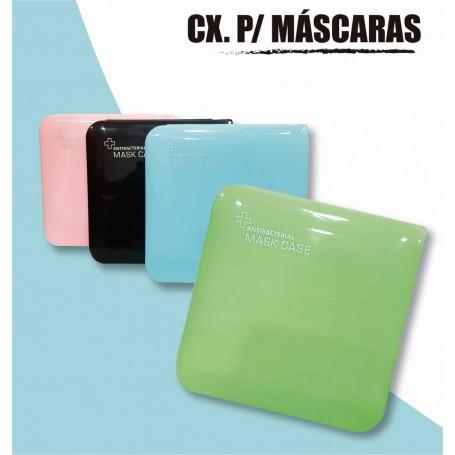 Porta mascara anti bacterial resistente