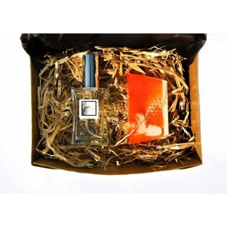 Perfume Feminino Coleção Especial Premium 50ml + sabonete